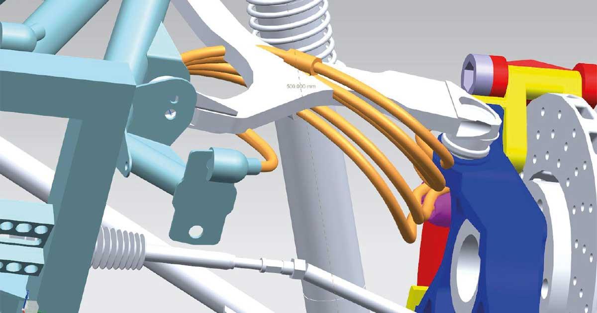 Virtuelle Entwicklung von Schläuchen und Kabeln<br />